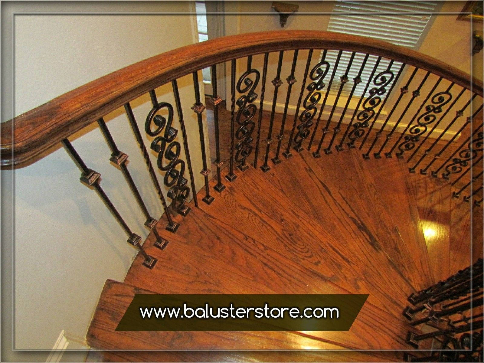 iron stair balusters parts Iron handrails interior Stair iron