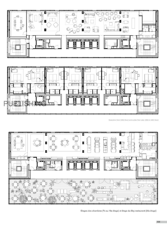 Hotel Architecture Pinterest Planta Baixa Casa Pousada E
