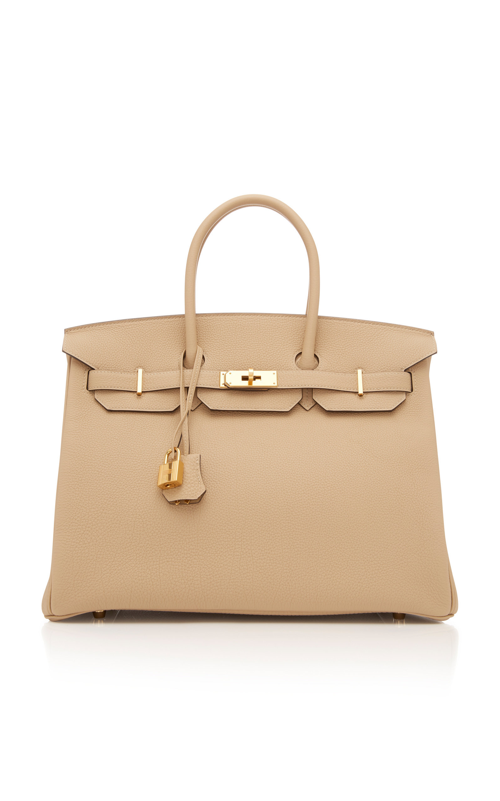 95e9937aea0a Hermes 35cm Trench Togo Leather Birkin by HERMÈS VINTAGE BY HERITAGE  AUCTIONS for Preorder on Moda Operandi