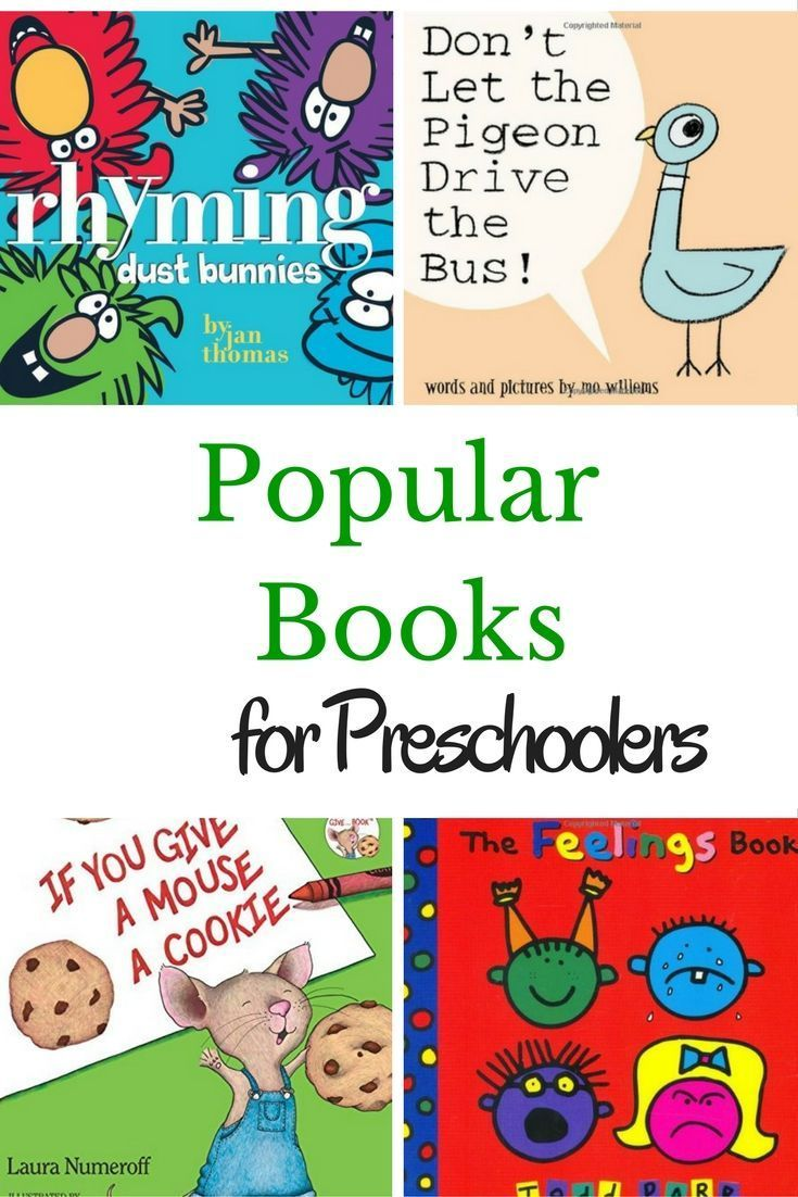 The Most Popular Books Ever For Preschoolers Kg1 Lessons And