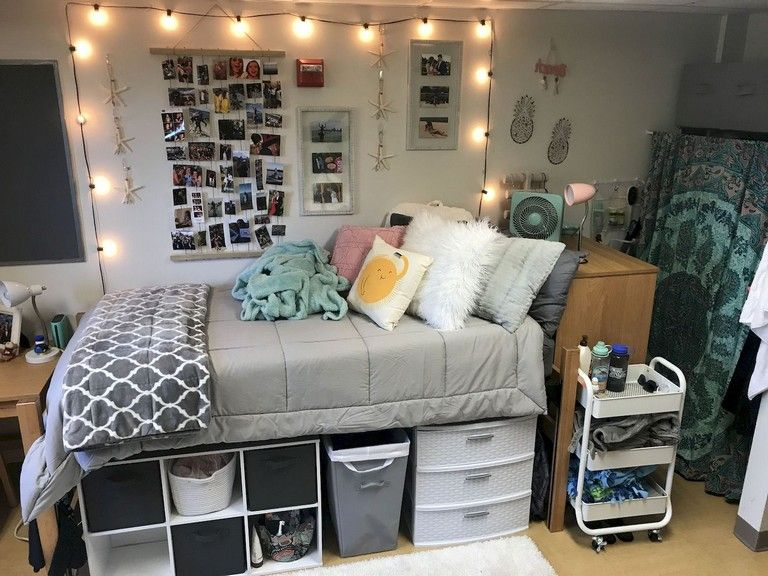 73+ Top Dorm Room Storage Organization Ideas On a Budget images