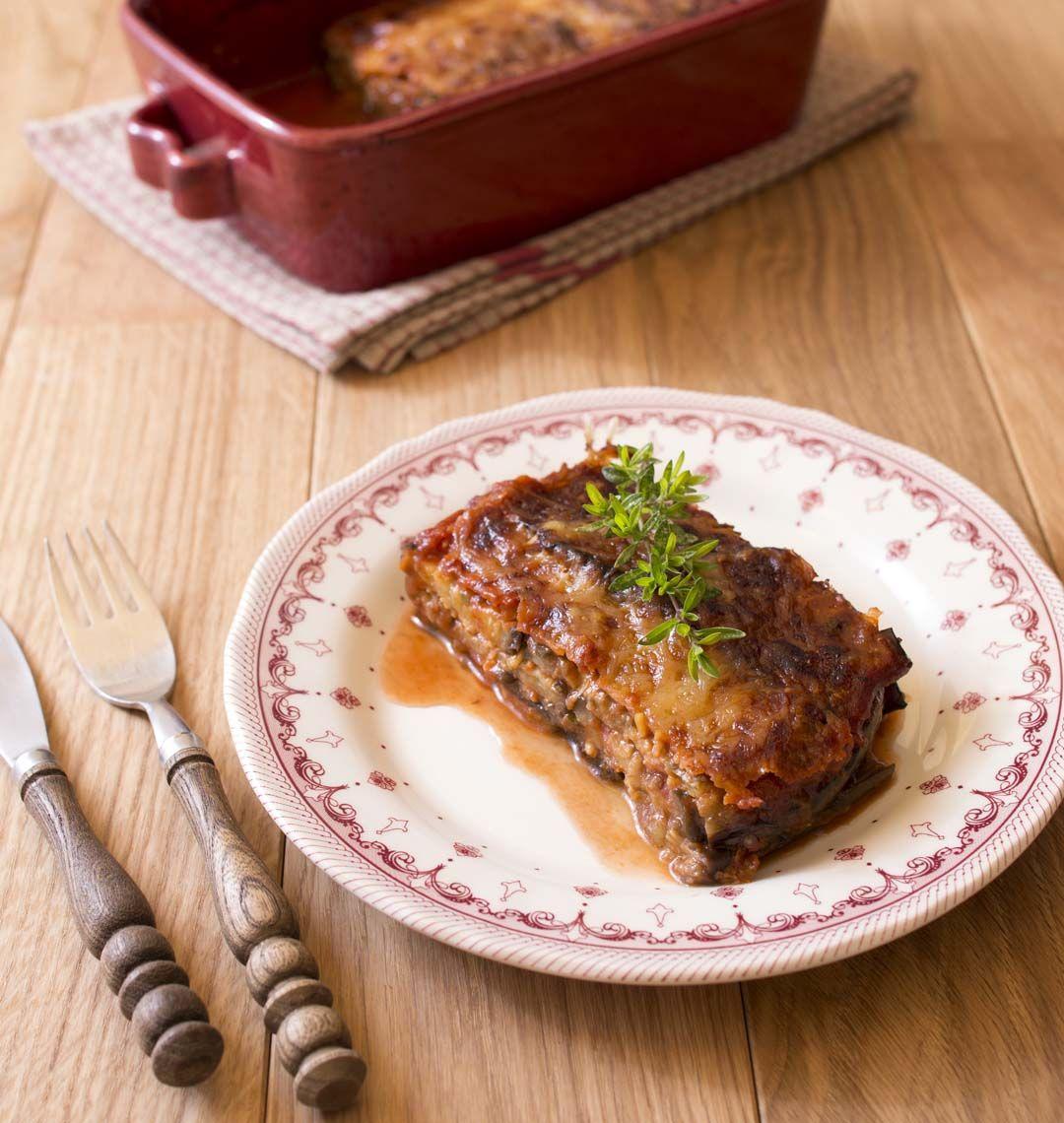 Aubergines a la parmigiana ou la parmesane recette aubergines la parmigiana - Cuisine legere au quotidien ...