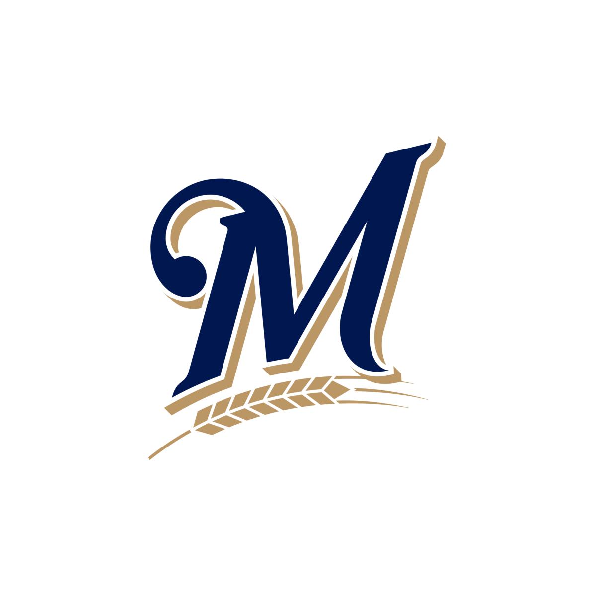 Milwaukee Brewers Old Logo United States Letter M Logo Brewer Logo Old Logo