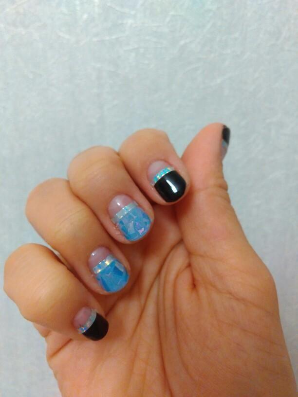 20Pcs/set Nail Art Transfer Stickers Acrylic Coffin Nail Design For ...