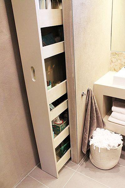 Met deze hacks kun je heel veel opbergen in je badkamer! | Praxis ...