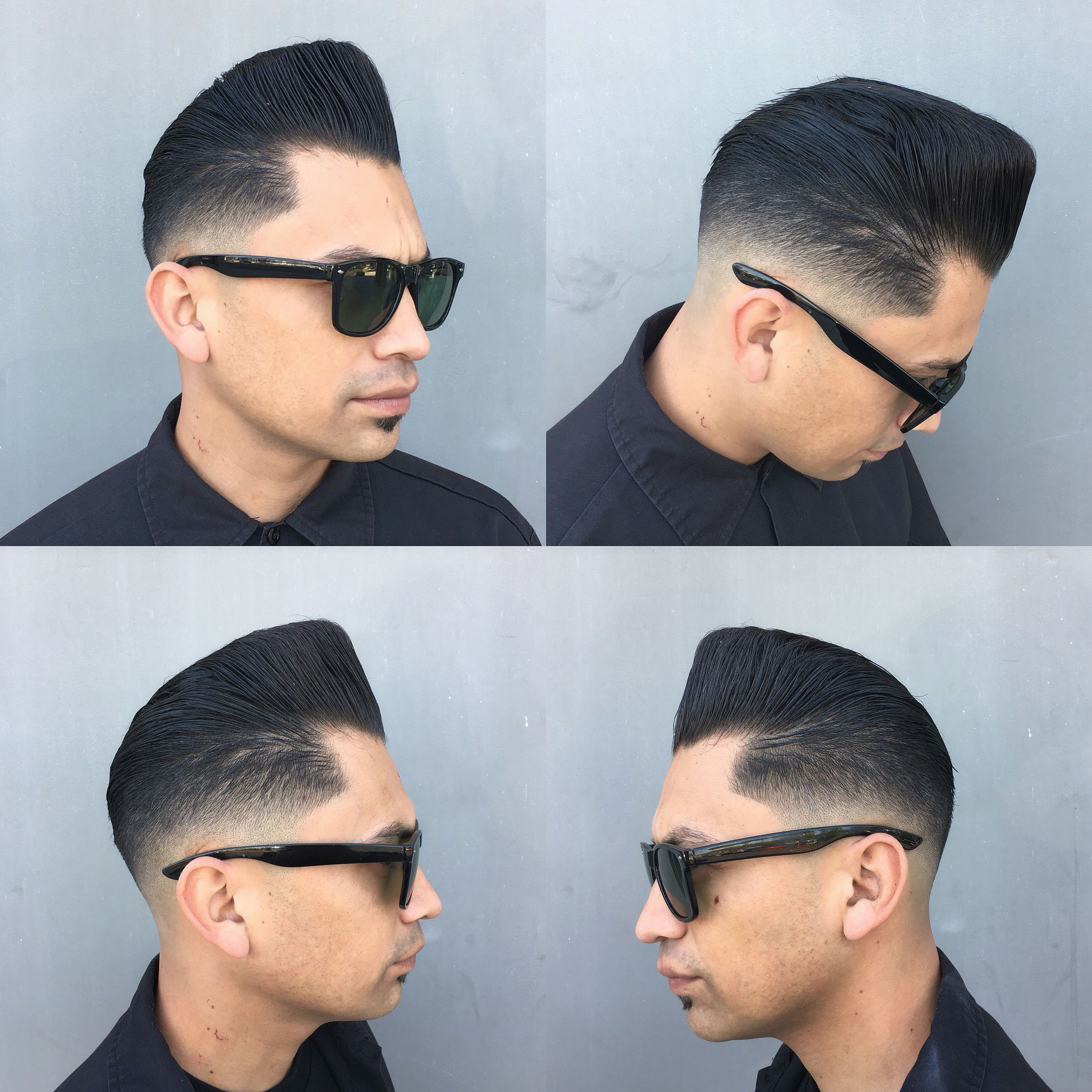 Medium Razor Fade With A Shaved Part Haircuts Pinterest