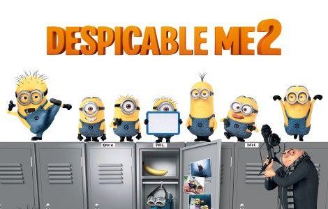 Despicable Me 2 Minions Wallpaper Hd Papel De Parede Minions