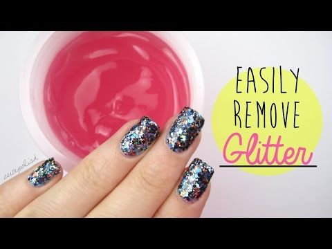 Acetone Power Gel For Hard To Remove Glitter Polish And Dark