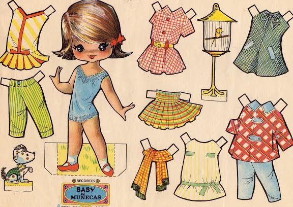 Recortables Muñecas De Papel Para Vestir Paper Dolls Muñecas Recortables Muñecas De Papel Muñecas De Papel Antiguas
