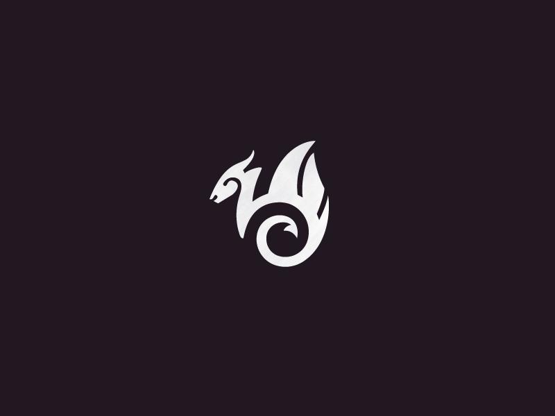 Dragon Dragon Icon Logo Dragon Graphic Design Logo