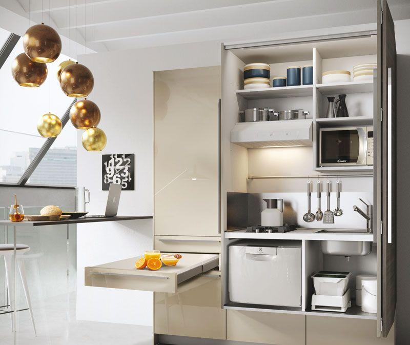 Idee salvaspazio per la casa: cucina snaidero   House   Pinterest ...