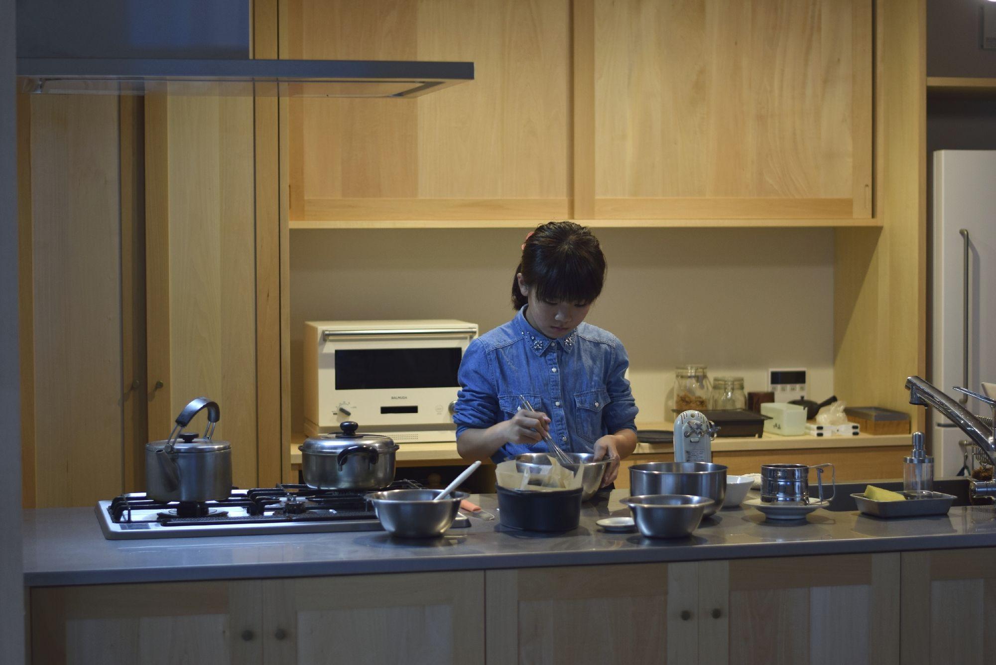 キッチン サイズ感 オーダーキッチン キッチン アリアフィーナ