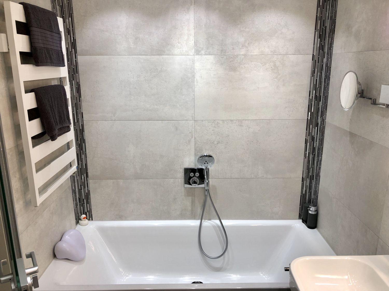 Badewanne mit Sound System Heizungstechnik, Badsanierung