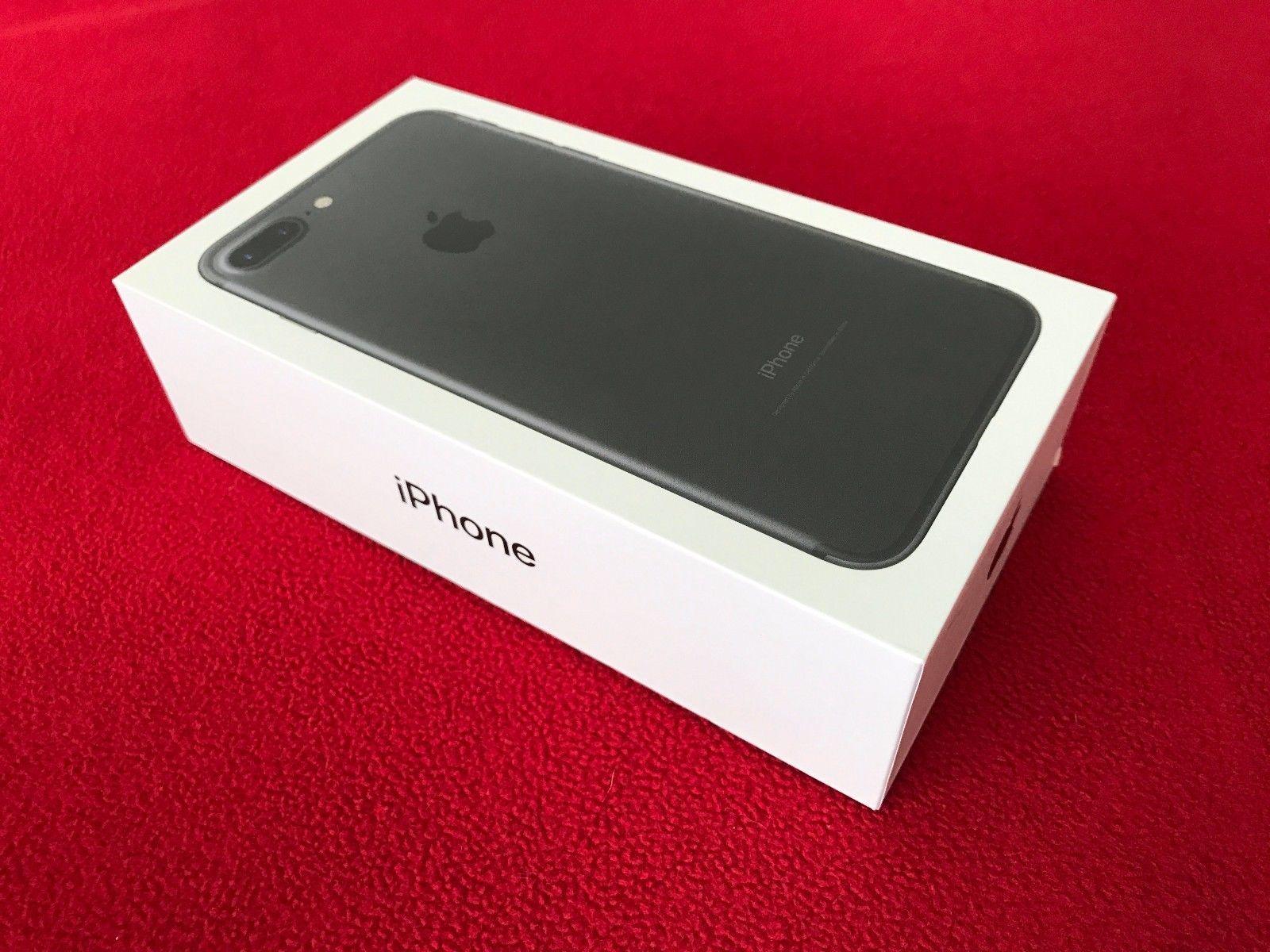 Brand New Apple Iphone 7 Plus 128gb Matte Black At T Straight Talk Cricket Clean