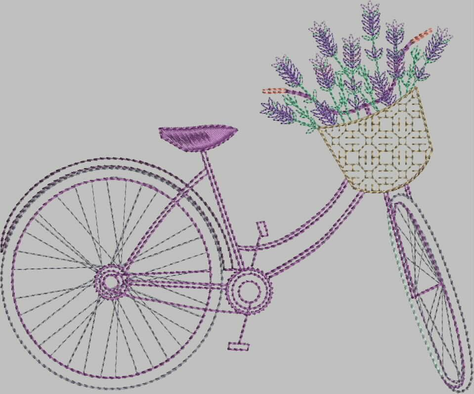 Garden Embroidery Designs machine embroidery design garden border 2 Lavender Garden Enchanting Designs For Machine Embroidery