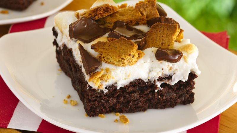 S Mores Brownies Recipe Brownie Recipes Desserts