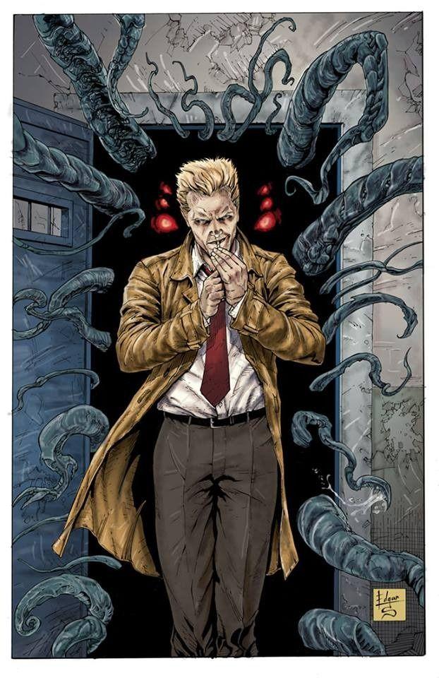 3e1871269 Constantine by Edgar Salazar | Hellblazer | John constantine ...