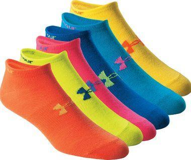 Under Armour® Women's No Show Training Socks... BEST...SOCKS...EVER!!!!!!