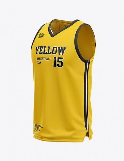 Download Super Basket Ball Jersey Mockup 37 Ideas #basket ...