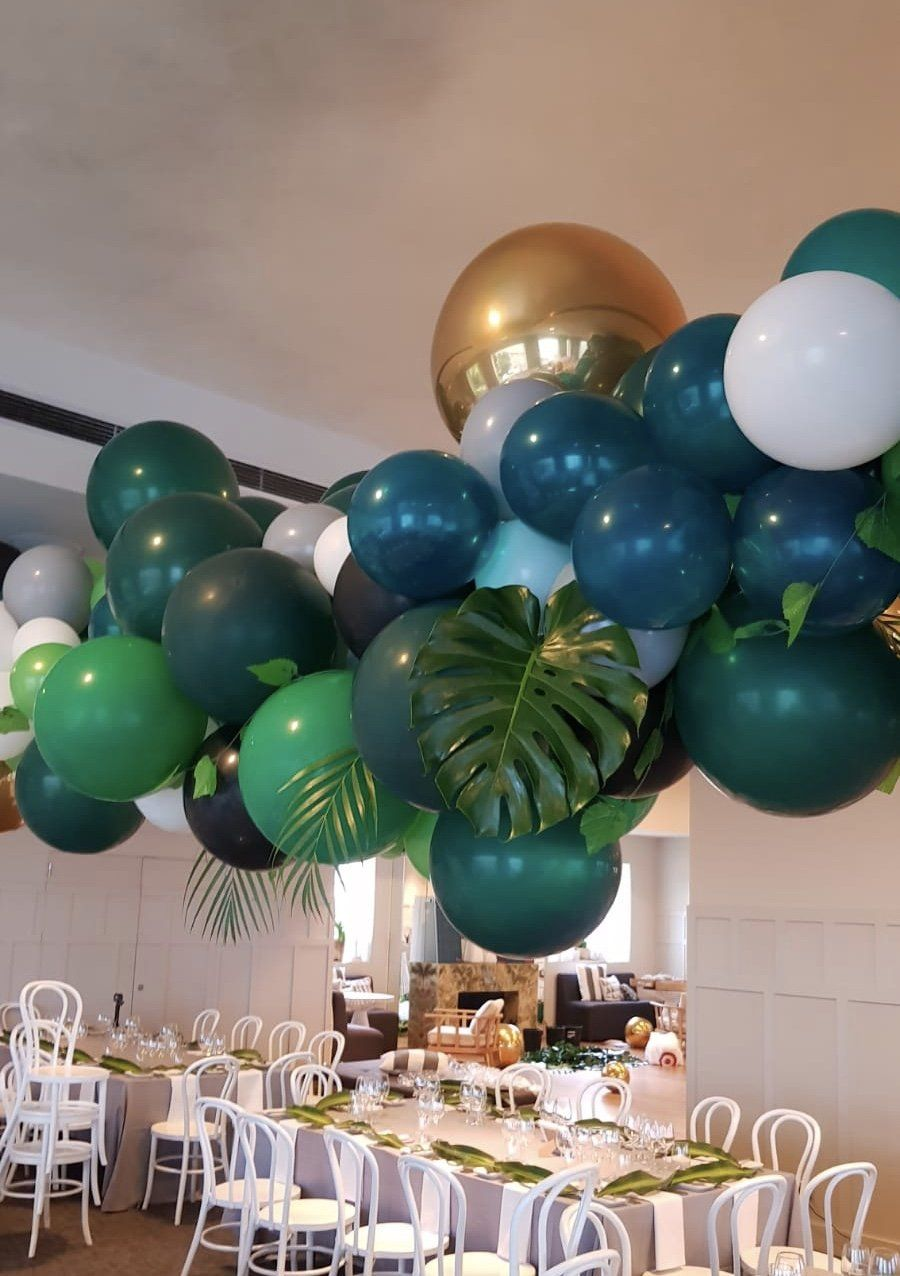 The Heyday Club Balloon Event Styling Melbourne Ceiling