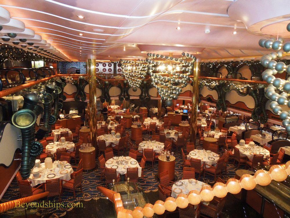 Carnival Splendor Cruise Ship Black Pearl Dining Room