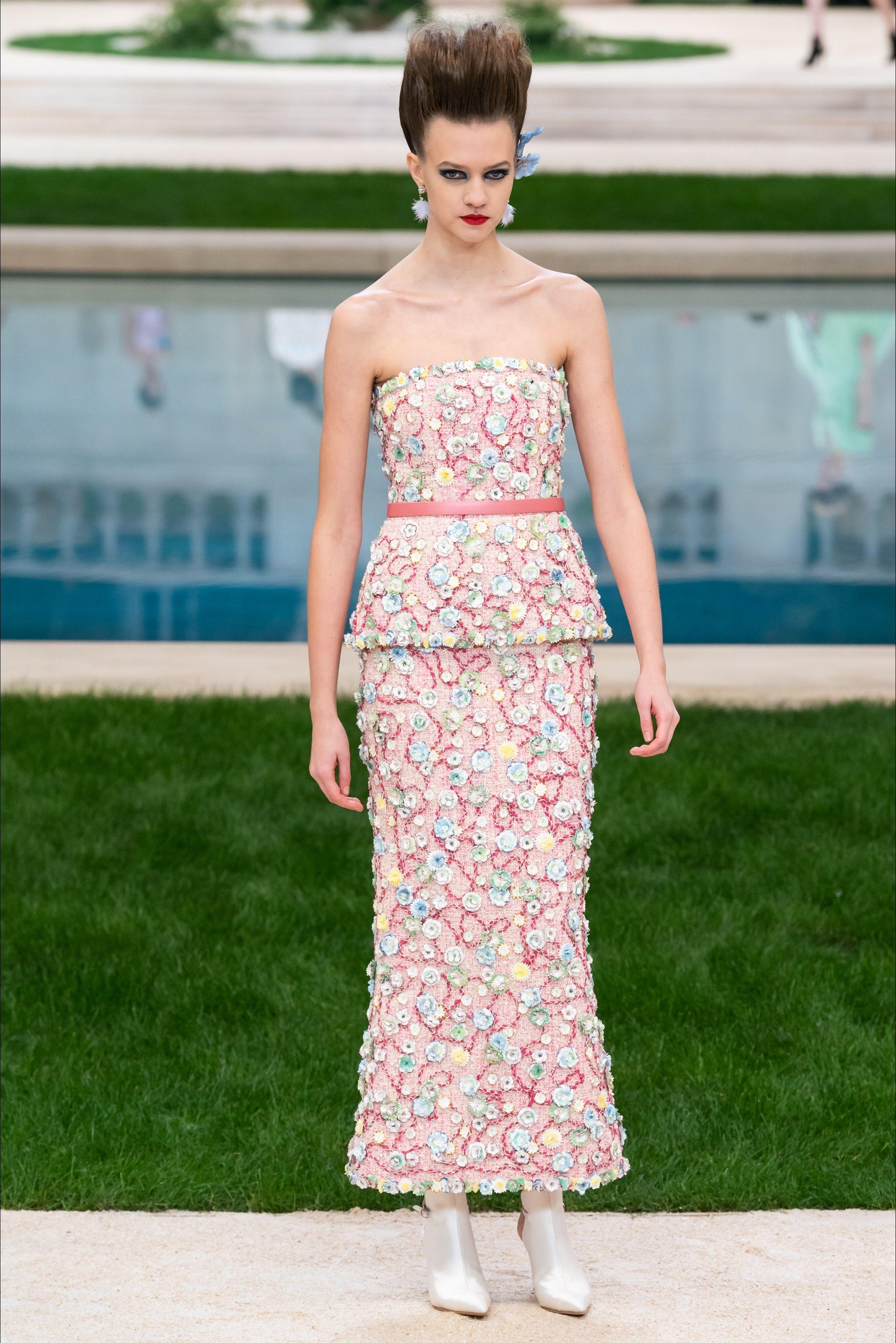 Модный дом Шанель Couture de printemps, Collection couture