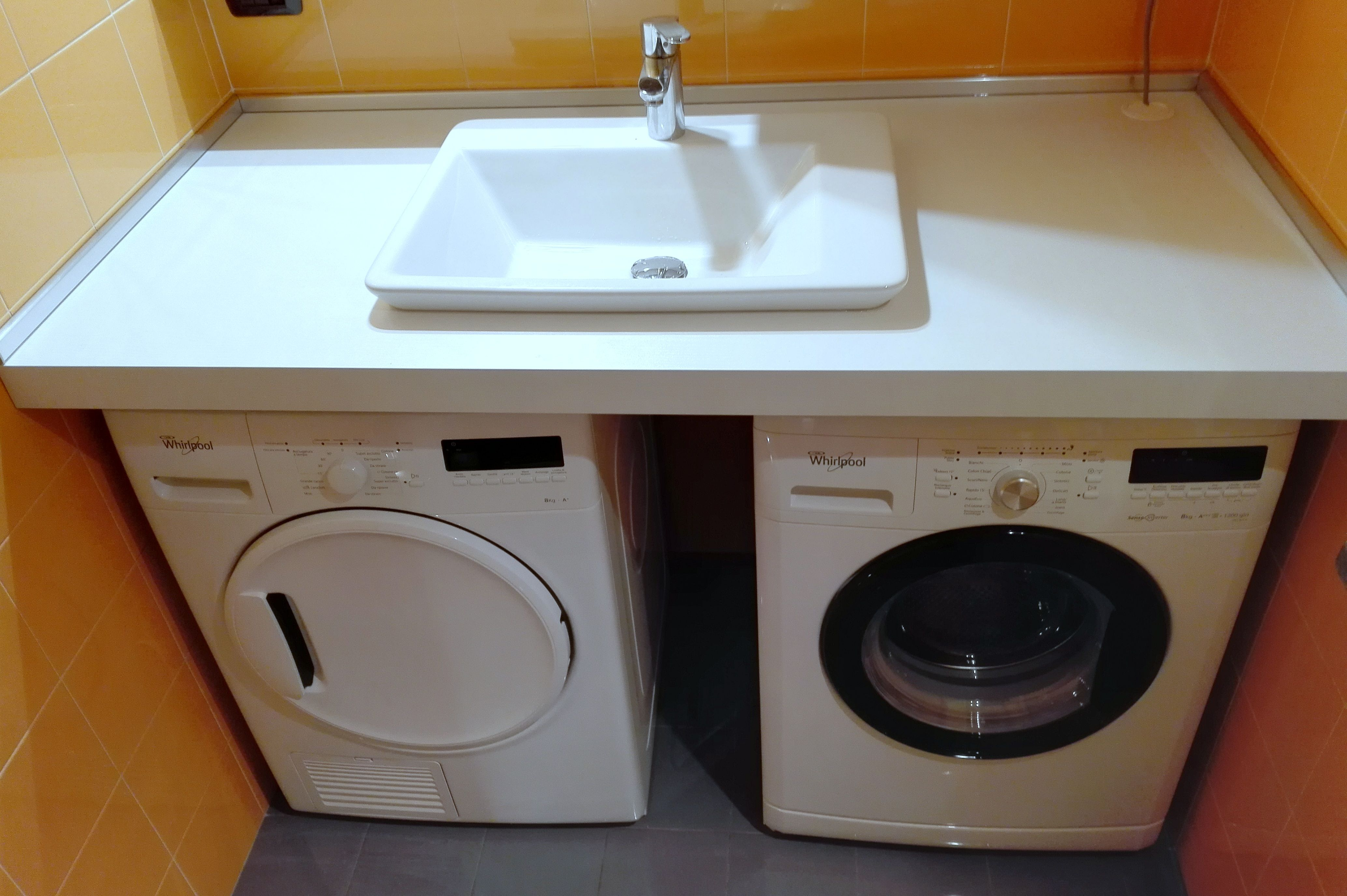 Mobile Bagno Con Lavabo E Lavatrice Con Mobile Bagno Lavatrice E