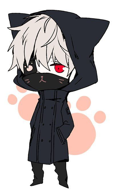 cute, boy and art image on We Heart It. Kaneki ChibiChibi Tokyo GhoulAnime  ...