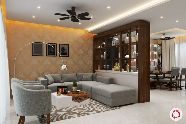 8 Tips On How To Separate Living And Dining Areas Living Room Partition Living Room Partition Design Living Room Design Modern