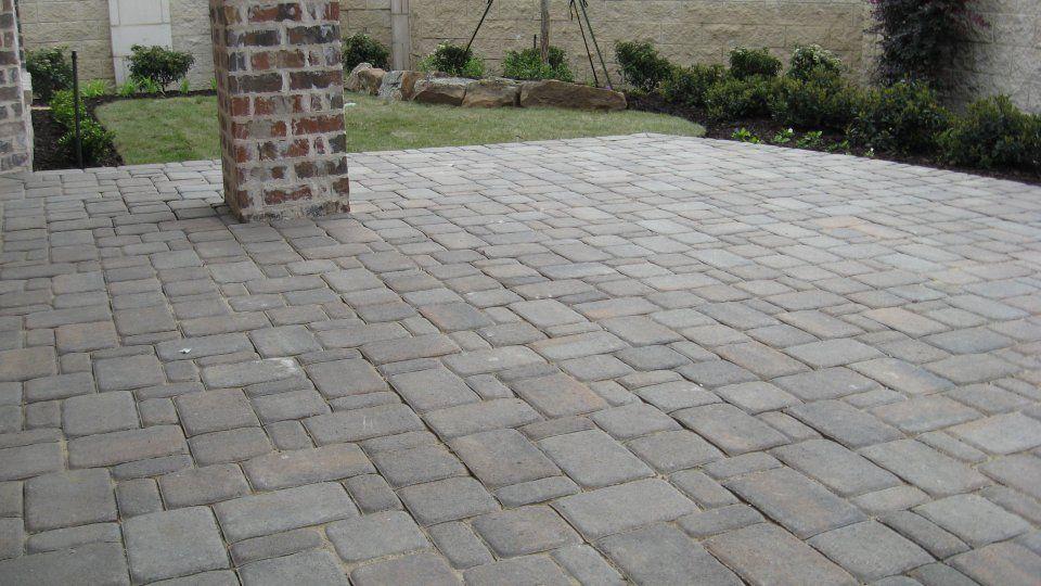 legacy custom pavers paver patio