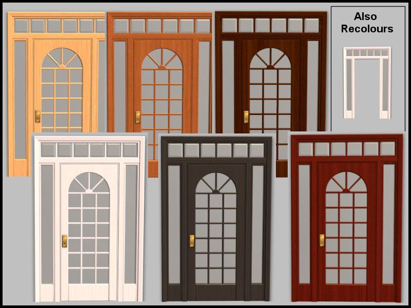 build doors and windows colonial