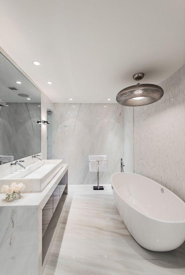 Elegant Modern Bathroom Design Marble Bathroom Tiles Freestanding Stunning Marble Bathroom Designs Review