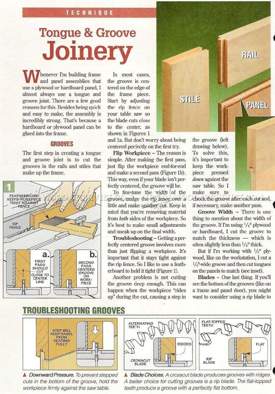2202 Tongue And Groove Joint Cabinet Door Construction Joinery Tongue And Groove Reclaimed Wood Cabinet Woodworking Tips