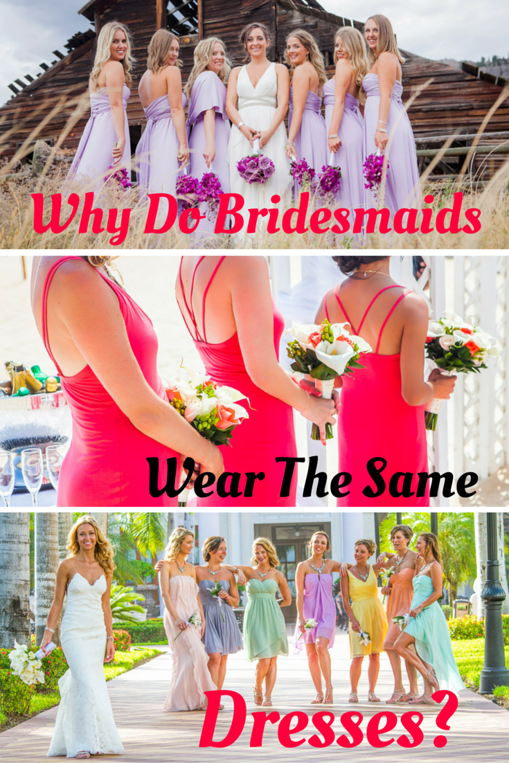 Best dresses to wear to a beach wedding  why bridesmaids wear the same dress u top wedding traditions
