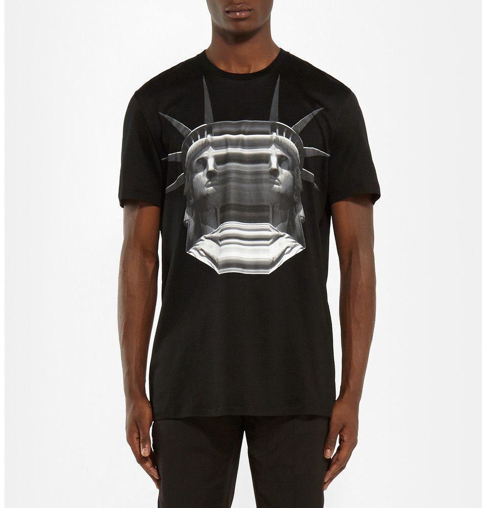 Neil Barrett - Printed Cotton T-Shirt | MR PORTER