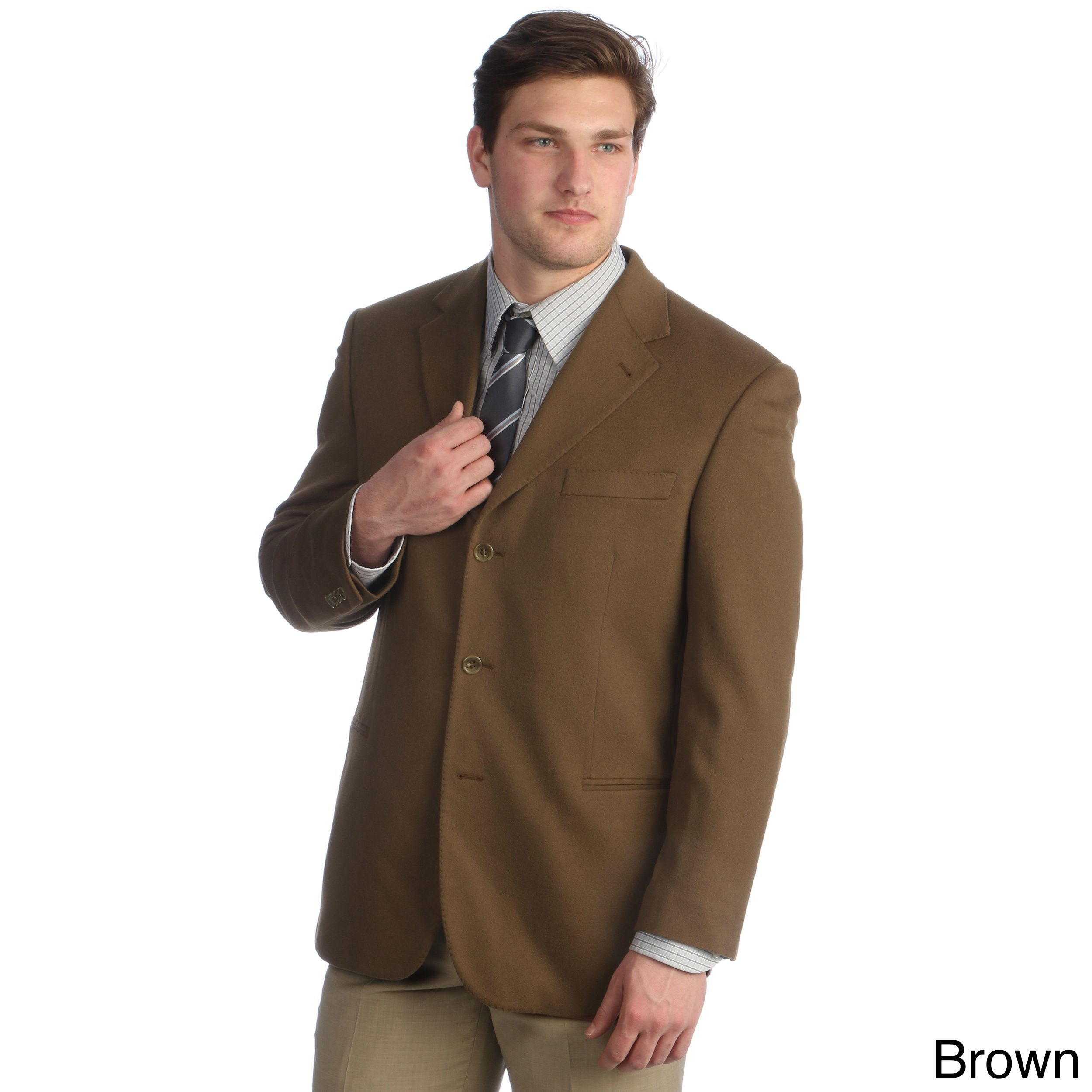 Hathaway Men's Italian Made 3-button Sport Coat