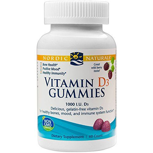 Nordic Naturals Vitamin D3 Gummies Healthy Bones Mood And Immune System Function 60 Soft Gels Click Image F Natural Vitamins Nordic Naturals Healthy Bones