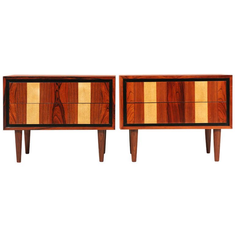 Dillingham Multi Wood Night Stands | From A Unique Collection Of Antique  And Modern Commodes And Chests Of Drawers At ...