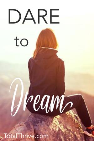 Dare To Dream Big Dream Big Dares Dream