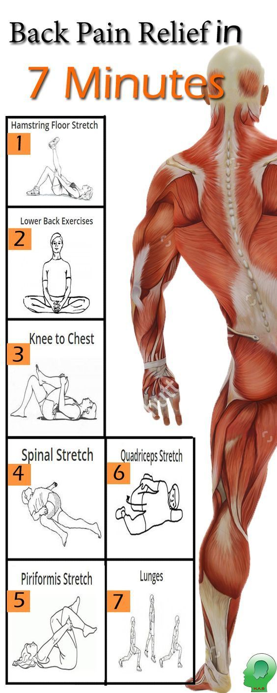 Back Pain Relief Excersice. #mensfitness   Salud. Ejercicio ...