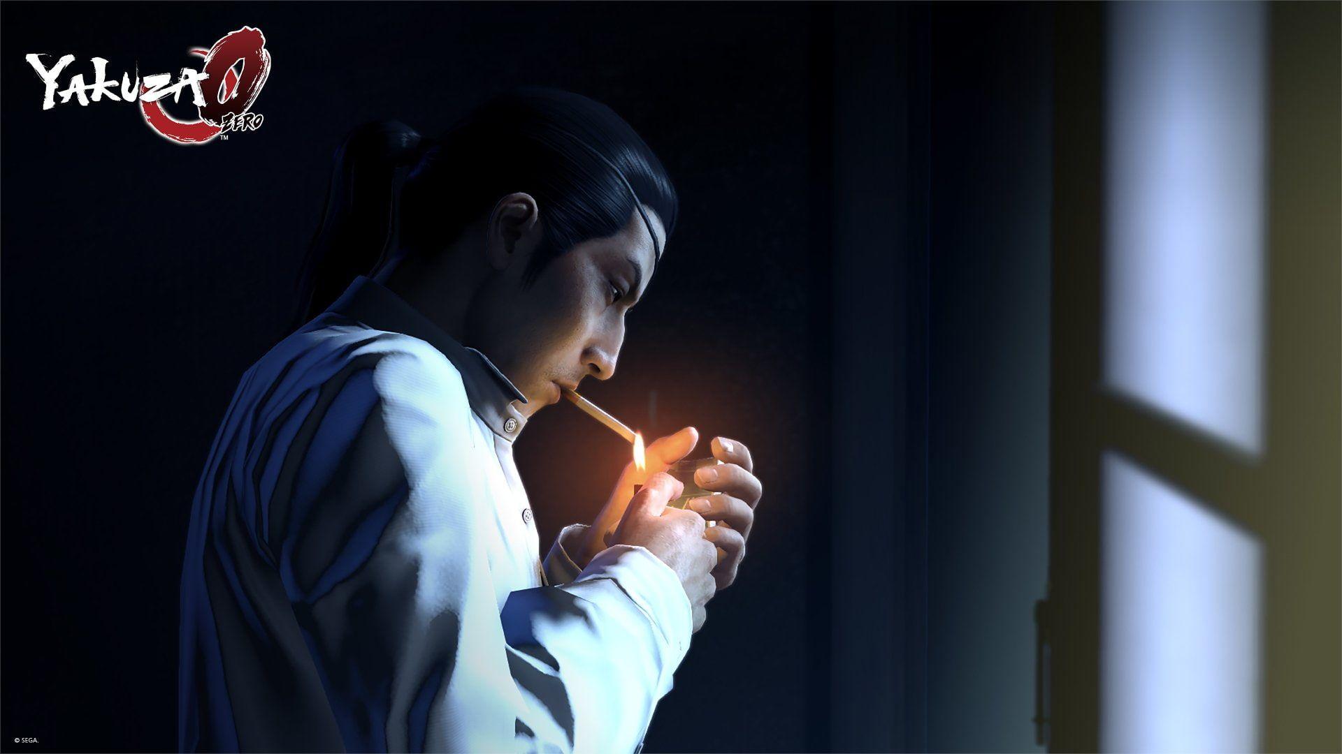 Video Game Yakuza 0 Goro Majima 1080p Wallpaper Hdwallpaper Desktop In 2020 Video Game King Of Fighters Destiny Video Game