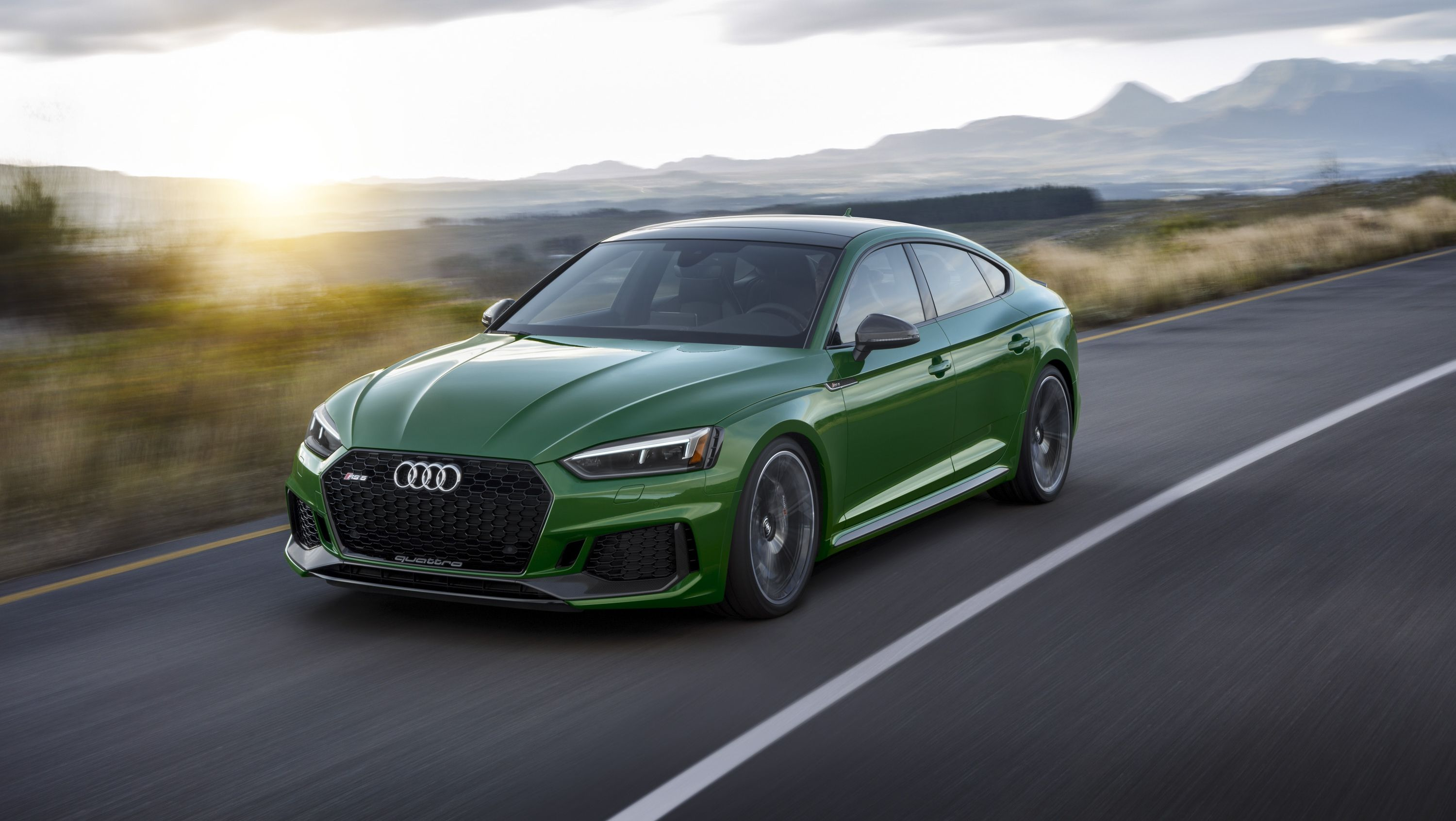 Audi Claims The New Rs5 Can Do 0 To 60 Mph In Four Seconds But What Can It Do Under Ideal Conditions Top Speed Audi Rs5 Sportback Audi Rs5 Audi Rs 5