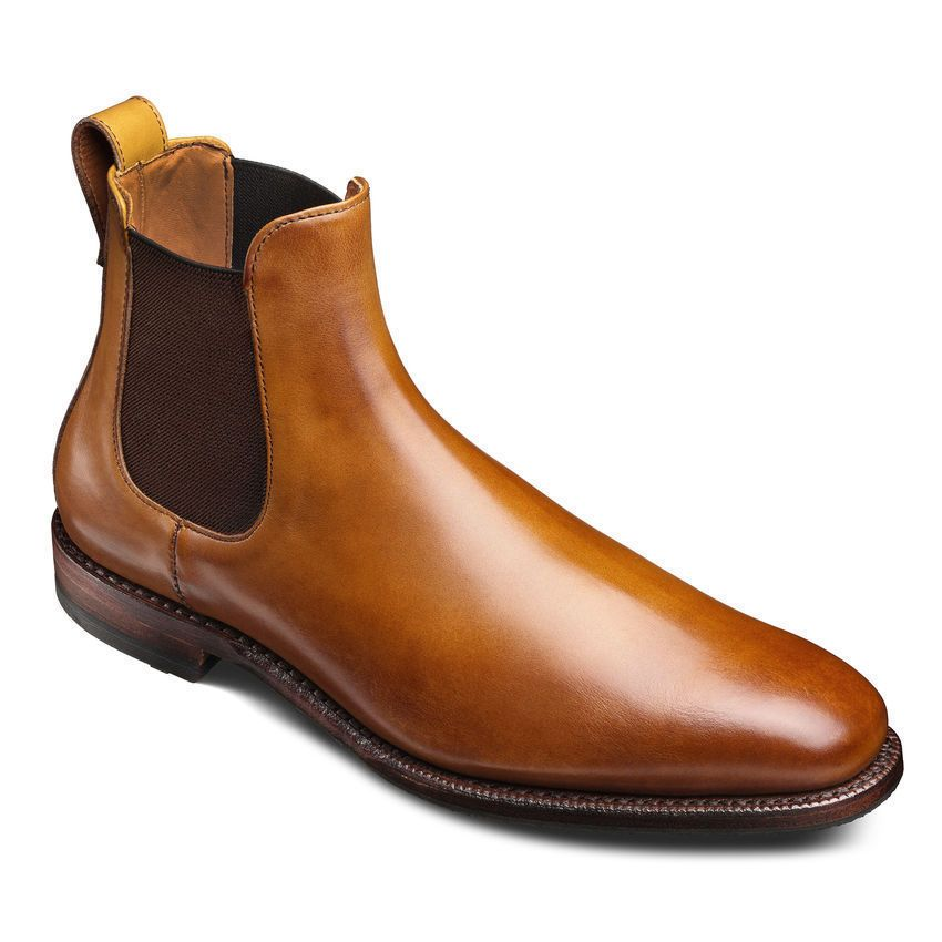6c09b6653333a New Handmade Men's fashion Walnut Chelsea leather boot, Men ankle leather  boots
