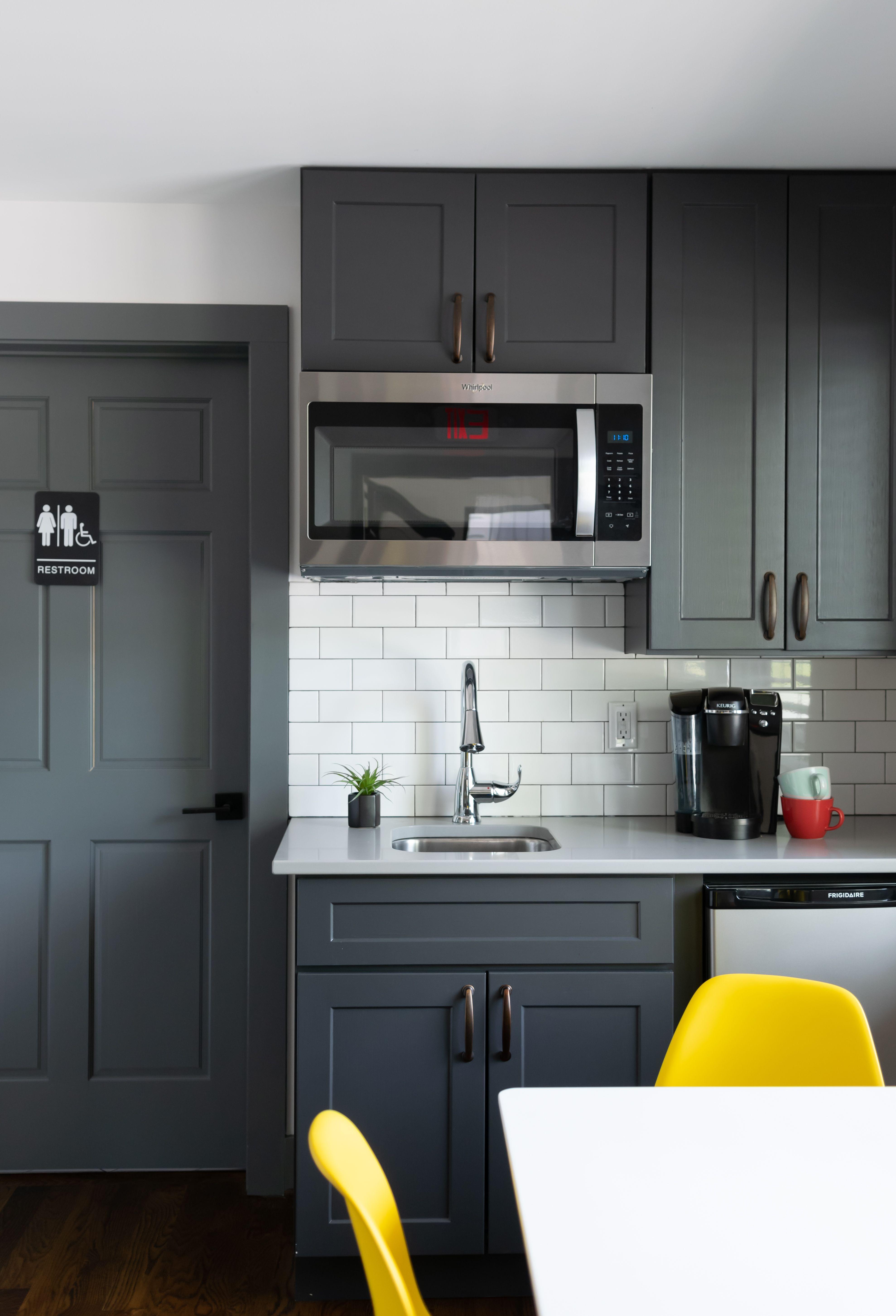 Office Kitchenette In 2020 Small Kitchenette Office Kitchenette Kitchen Cabinet Design