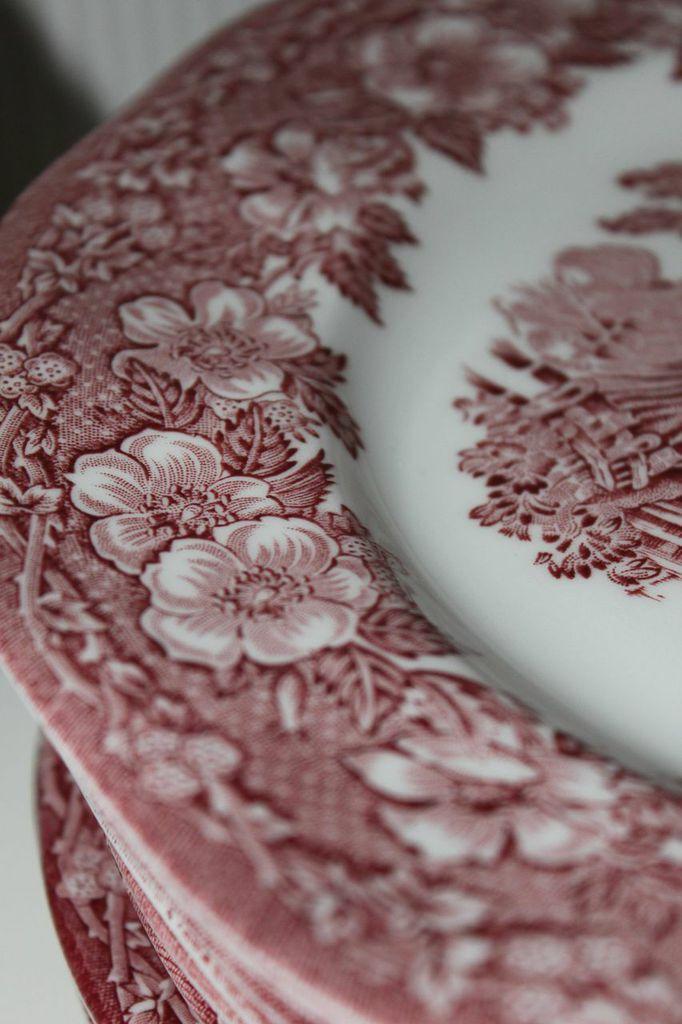 Vintage Geschirr Unicorn Tableware Woodland from England & Vintage Geschirr Unicorn Tableware Woodland from England | Vintage ...