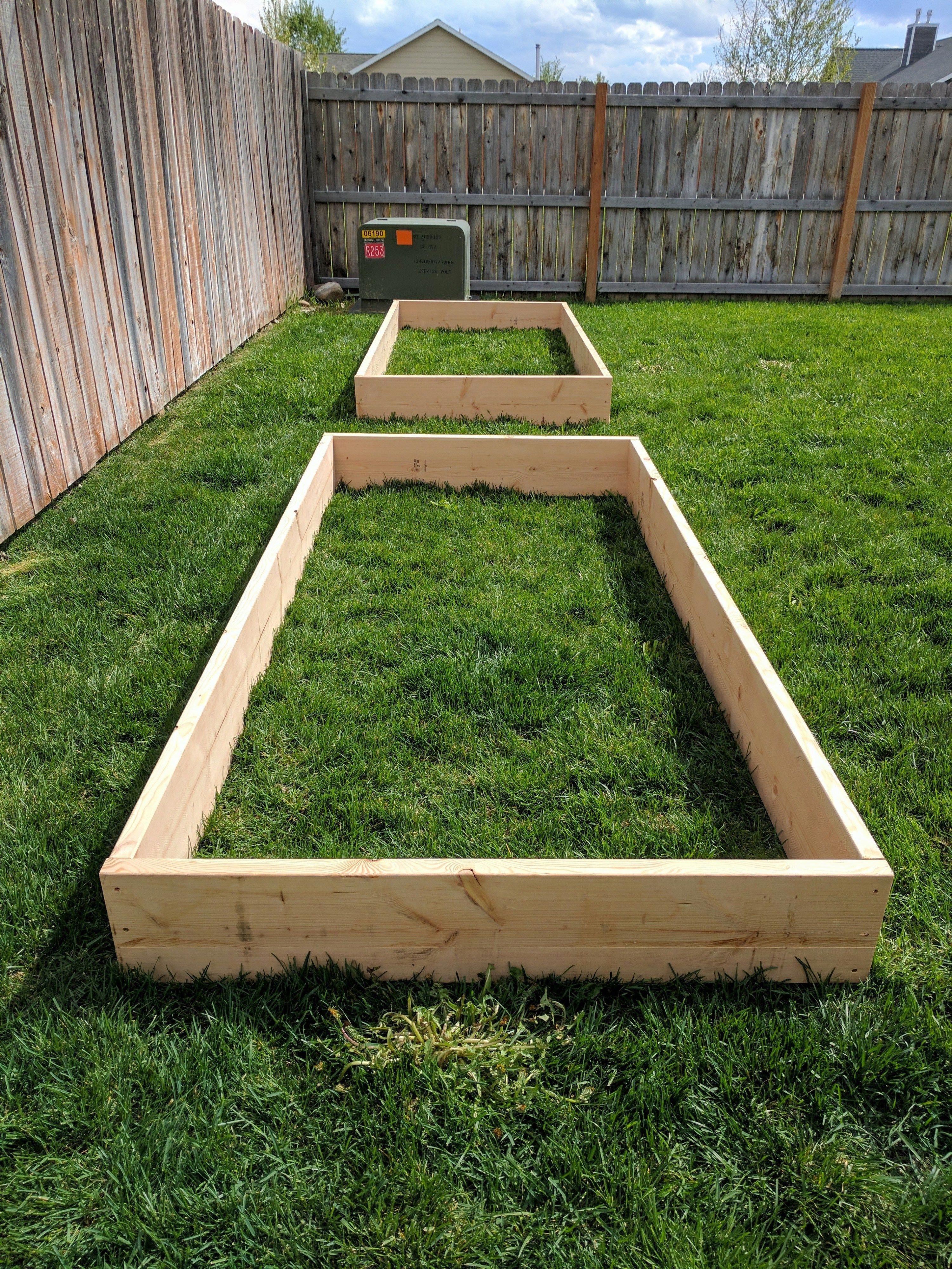 Garden bed with trees  DIY Raised Garden Beds  Planting a garden soon Follow this guide
