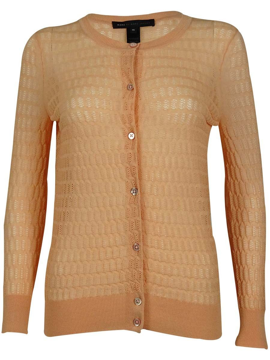 Marc by Marc Jacobs Women's Front Buttoned Mercerized Cardigan