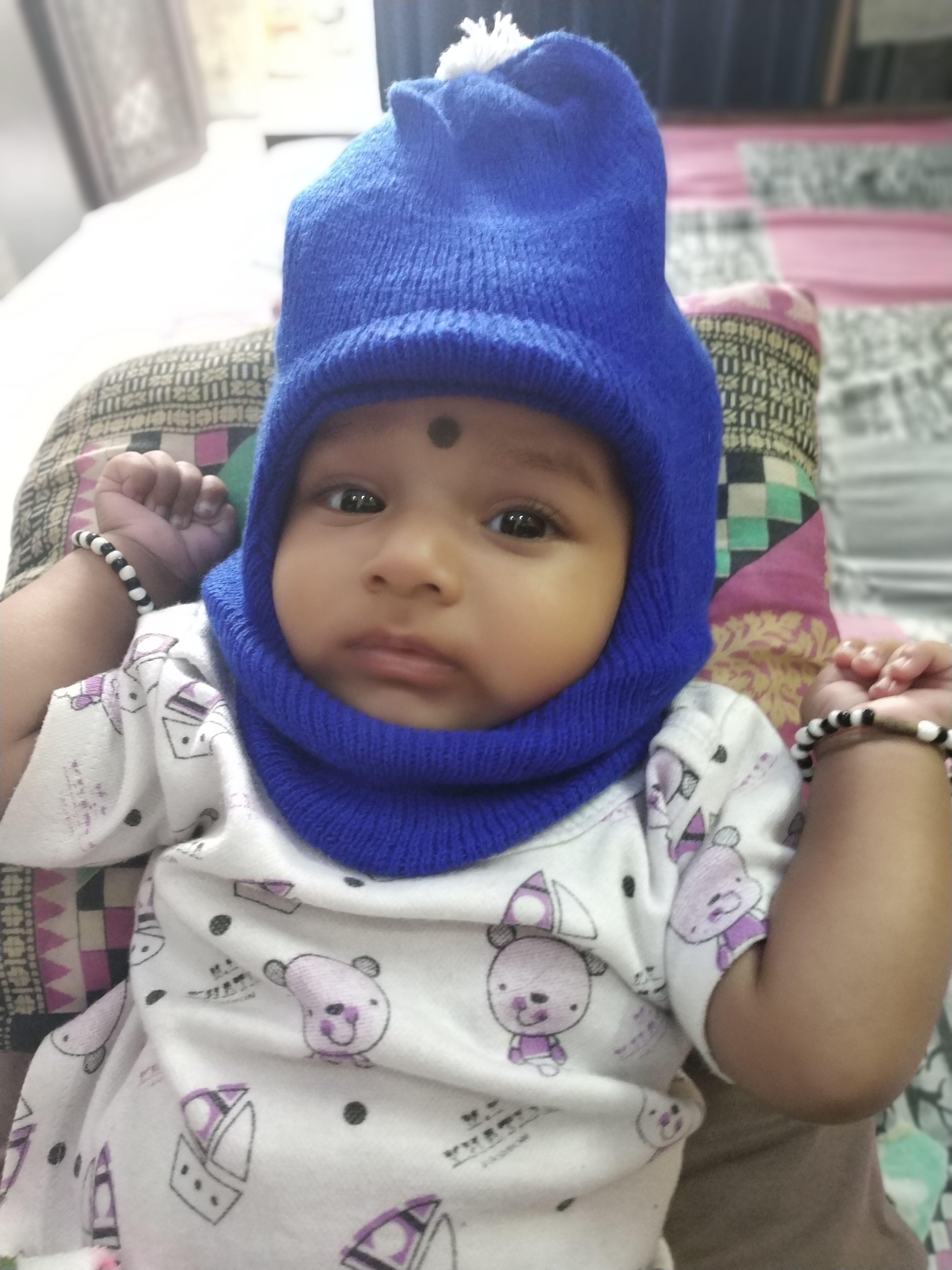 DAY 109   How I am looking in monkey cap  )    babyinmonkeycap  babygirl   baby  momlife  babyboy  babyfever  babystyle  stylishbaby  momblogger ... 3d2c3e75203