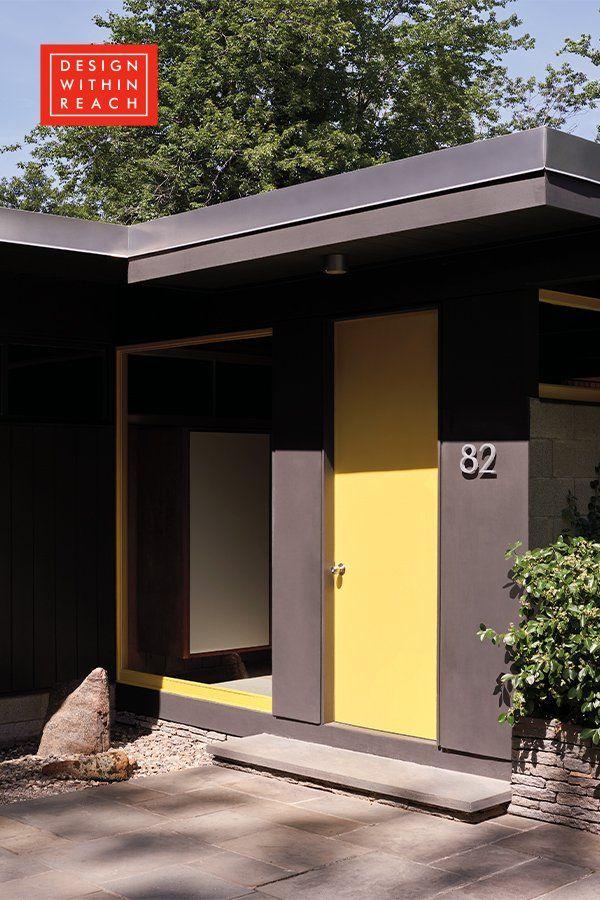 Neutra Modern House Numbers Modern House Number Modern House