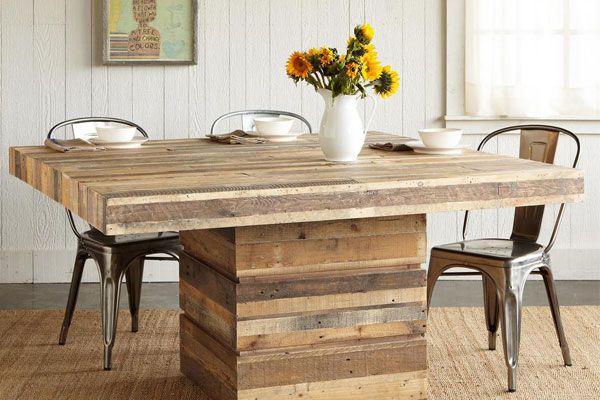 27 mesas de paletes de madeira mesas de paletes for Mesa de centro de palet